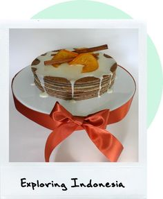 Kue Lapis Legit4-Thousand layer cake-sounds very crepe like-should try.