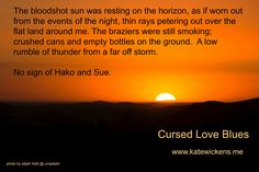quote from Cursed Love Blues