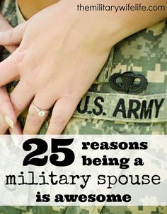 Share Tweet Pin Mail   We all know that being married to a service member isn't exactly sunshine and rainbows all the time. Between ...