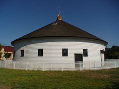 The DeTurk Round Barn In DeMeo Park Is Crowning Glory Of West