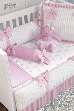 Baby Girl Crib Sets, Baby Crib Diy, Baby Girl Crib Bedding, Baby Set, Baby Bedroom, Baby Cribs, Baby Pillows, Kids Pillows, Baby Nursery Decor