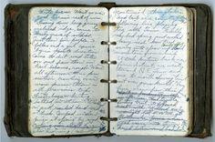 Earl Shaffer appalachian trail notebook diary