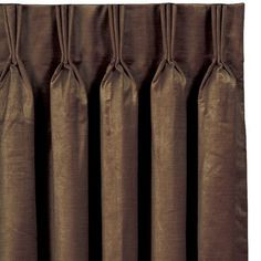 Eastern Accents Lucerne Three Finger Pleated Single Curtain Panel