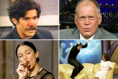 Top 10 Celebrity Talk Show Interviews That Totally Went Off The Rails ~ David Letterman accounts for 6 out of 10  | Decider