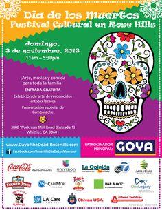 Celebrate Dia de los Muertos 2013 at Rose Hills via @M Má Noticias
