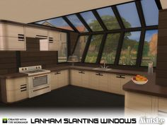 This set has several slanting windows that matches the skylights, you can use then both ways! Make sure that your game is fully patched and up to date for this set to show and work correctly in the...