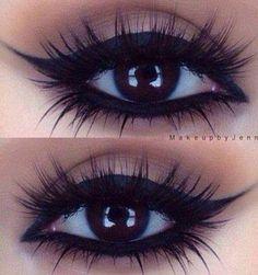 ριηтεяεsт:⚘qωε3ηв⚘ ♕ Gorgeous Winged Eye Makeup