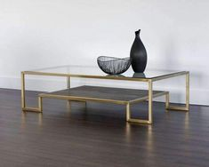 Have to purchase Carver Coffee Table by Sunpan Modern Coffee Table Canada, Accent Furniture, Living Room Furniture, Decor Interior Design, Interior Decorating, Wood Glass, Modern Coffee Tables, Cocktail Tables, Living Room