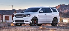 Neuer Dodge im full-size SUV-Segment : Schnellster Familien-Crossover - der 2018 Dodge Durango SRT