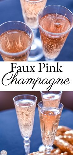 Your next celebration deserves Faux Pink Champagne! It's bubbly, blush and delicious. Did I mention how easy it is to make?