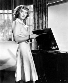 Bette Davis and vinyl