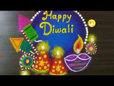 Very Easy Diwali Special Rangoli Design 2019 Simple rangoli for diwali - YouTube