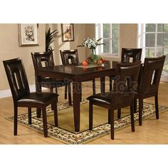 Ervin Dining Room Set Coaster Furniture | FurniturePick