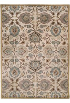 The Artistic Weavers John Beige 8 ft. x 11 ft. Area Rug is decorative and features wool construction. This is hand tufted and comes with cotton canvas, latex backing. It is recommended to use with rug gripper pad. Wool Area Rugs, Beige Area Rugs, Wool Rug, Thing 1, Shades Of Beige, Traditional Area Rugs, Oriental Pattern, Hand Tufted Rugs, Rectangular Rugs