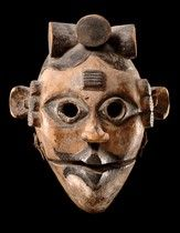 """Ogoni - the small caricatures called """"elu"""" are representing different characters. In a funny or tragic way they illustrate traditions by stories and songs.  H: 19 cm    Read more: http://www.tribal-art-auktion.de/en/catalogue159/d100_101/#ixzz3wlJzfRWg"""