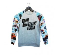 The Future is Ours Sweater Fury Grey