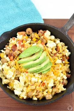 Egg White Breakfast Skillet – Totally The Bomb.com