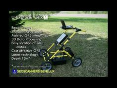What is a ground-penetrating radar Geoscanners and how