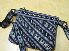 Ravelry: FortCollinsKnits' z- Inkle & Tablet woven bag