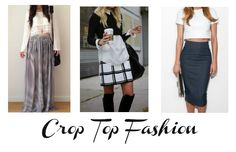 Crop Top Fashion Ladies, as the weather gets warmer, the hems of our clothes get inevitably shorter. Crop tops are one of these clothing items. Now, crop tops are just fine, as long as they are worn tastefully. You don't want to show TOO much skin, dressing like a lady is always a must! Here are a few tasteful w...  Read More at http://www.chelseacrockett.com/wp/fashion/crop-top-fashion/.  Tags: #CropTop, #CropTopFashion, #CropTopStyle, #Fashion, #FashionAdvice, #Fashi