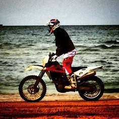Beach motorcycle husgvarna