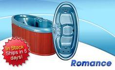 Heavenly Spas - The Romance 2 Person 8 Jet Hot Tub Spas