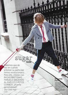 Gal·la de Sugar Kids para Telva Niños
