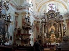 Interior of the Dominican Church, Sopron, Hungary