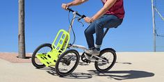 Two wheels good, three wheels better? That's the theory behind the Kiffy Urban Tricycle, which is designed with just about everything you want to do in a city in mind. It's light, foldable, portable, maneuverable, and stable.