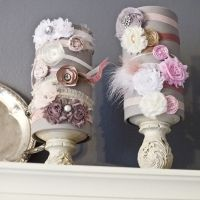 Kennedy's Gray and Pink Nursery - Shabby Chic
