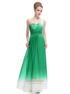 Green And White Dress For Party,Green One Shoulder Chiffon Dress