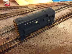 09 026 by Lima. broken buffer , runs well. £7.50 _ Acquired 13/06/15 Medway.    Repainted/renumbered 181115 to 08694 EWS