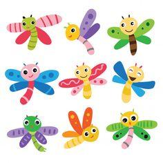 Felt Animal Patterns, Stuffed Animal Patterns, Monster Crafts, Tattoo Templates, Scrapbook Cover, Butterfly Illustration, Vector Design, Graphic Design, Animation Tutorial