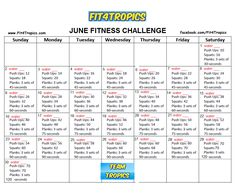 http://www.facebook.com/Fit4Tropics Join Us For June's Monthly Challenge In A Private Accountability Group!