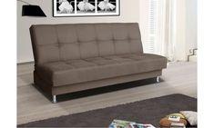 Rozkladacia  pohovka Endono 7, hnědá Couch, Furniture, Design, Home Decor, Settee, Room Decor, Couches, Sofa, Design Comics