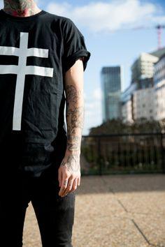 inked man in Paris Théo photos by Nicolas Brulez aka The Tattoorialist @TheTattoorialist