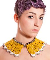 Ravelry: Prese per il colletto! crocheted peter pan collar pattern by Elisa Valentini