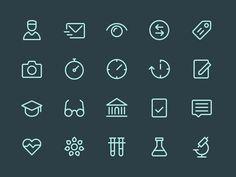 Health App Icons by Denis Rodchenko