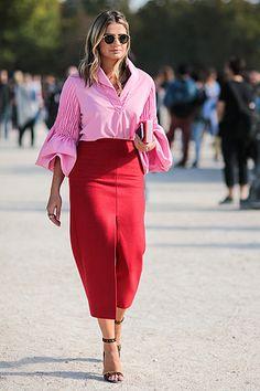 Неделя моды в Парижe: street style