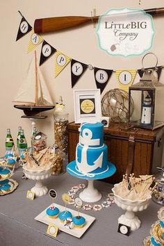 Hostess with the Mostess® - Nautical Party