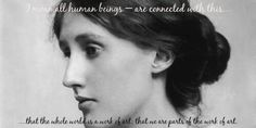 Woolf. Writing. Whole....
