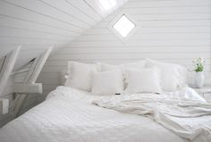 For the loft. I think the white is nice and refreshing. Ive always wanted my apartment to have a loft.