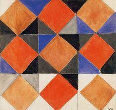 Sonia Delaunay checkerboard
