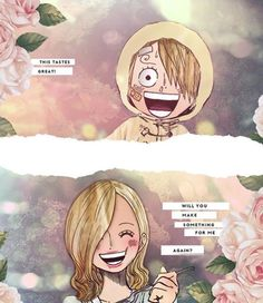 Sanji and his mother
