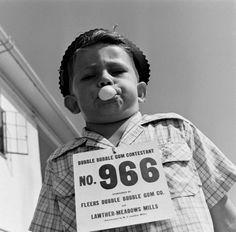 Bubble Gum Contest Texas State Fair 1947 Photo: Cornell Capa