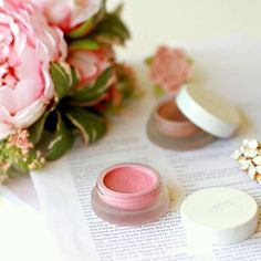 A universally flattering shade that gives a pop of pink to your lips and cheeks, RMS Beauty Lip2Cheek in Demure. (: @libertygreenau) #rmsbeauty #lip2cheek #demure #nontoxicmakup