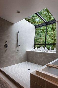 Zona de ducha, un placer totalmente zen.