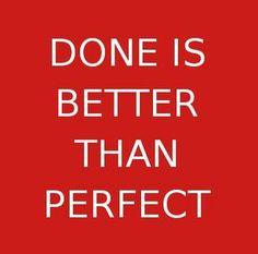 1 – Appliquez la règle des 80% Considérez dès à présent que tout ne pourra pas être fait. Viser 80% du résultat est un objectif réaliste et ambitieux. Luttez contre un de vos principaux stresseur : le perfectionnisme.  Adoptez la devise Done is better than perfect. (Il vaut mieux que ce soit fait que parfait)