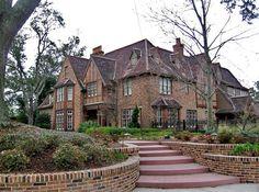 Tudor House with Turret | Tudor revival house, North Hill, Pensacola, Florida | Flickr - Photo ...