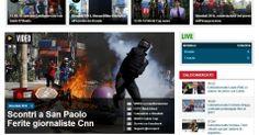 Imprensa internacional destaca protestos e deixa de lado festa da Copa